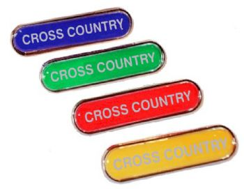CROSS COUNTRY bar badge